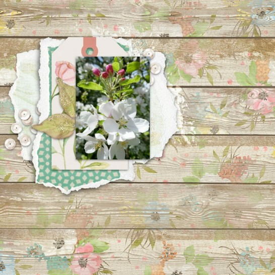 May Flowers by Angela Toucan at The Lilypad. Using Sketch No.4
